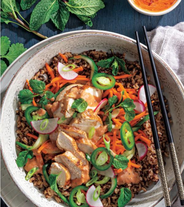 Chicken Banh Mi Bowl
