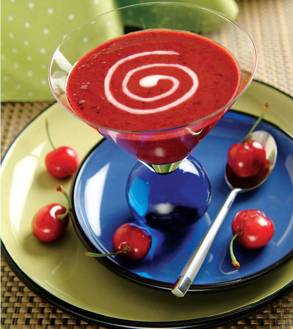 Chilled Cherry Dessert