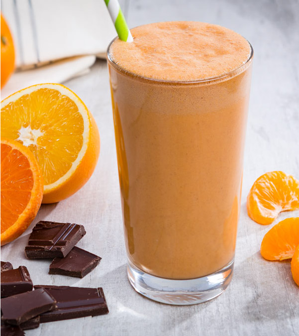 Chocolaty-Orange Smoothie