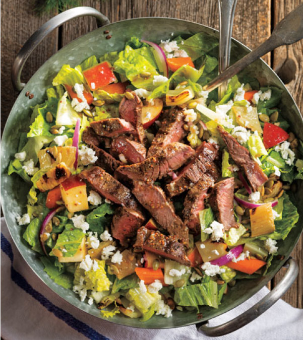 Chopped Grilled Steak Harvest Salad