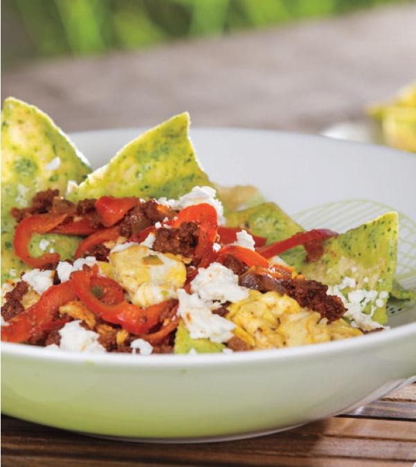 Chorizo & Egg Chilaquiles