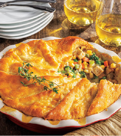 Fall Chicken Pot Pie