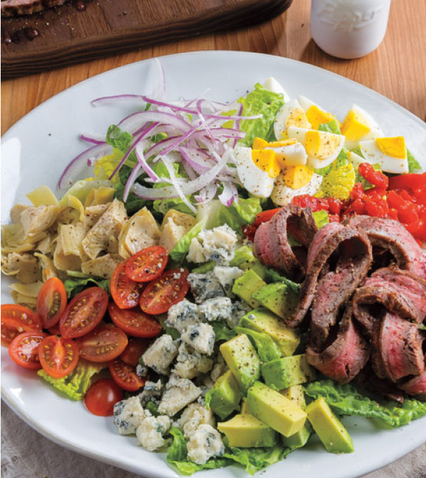 Grilled Steak Cobb Salad