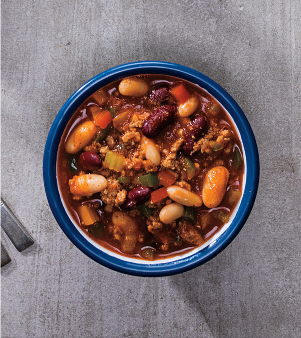 Hearty & Healthy Turkey Chili