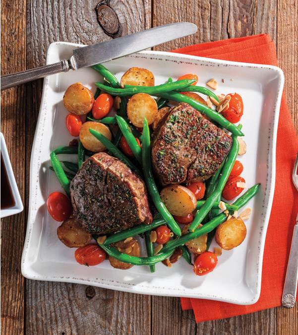 Herb-Rubbed Filet Mignon