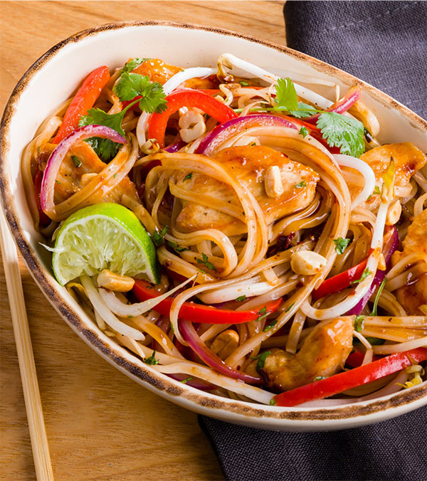 Instant Pot® Chicken Pad Thai