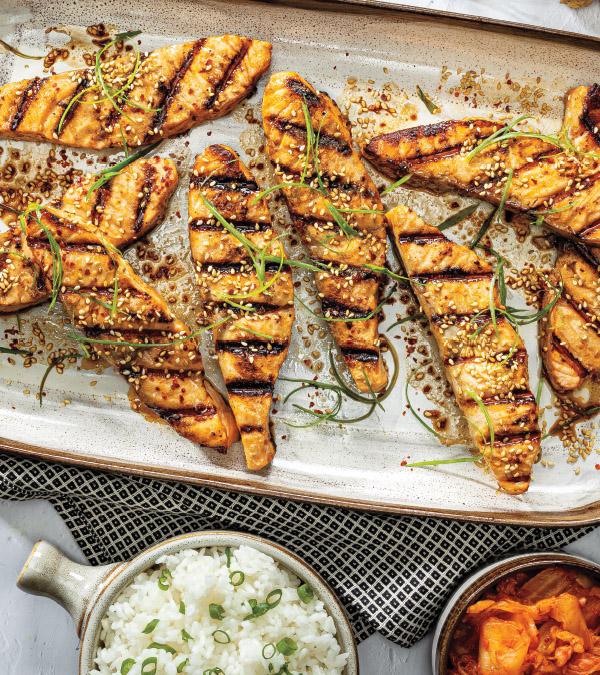 Korean BBQ Salmon