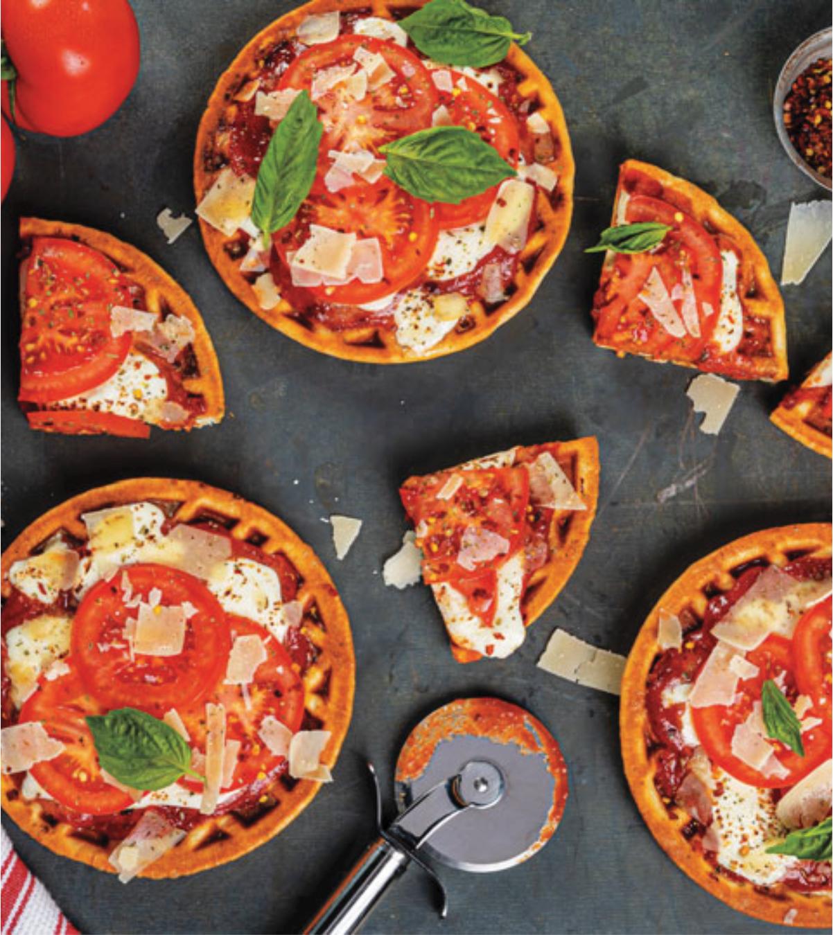 "Margherita Pizza ""Waffles"""