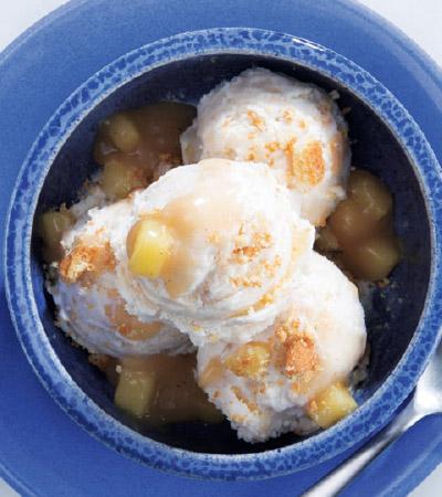 No-Churn Brown-Butter Apple Pie Ice Cream