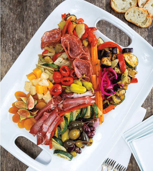 Simple & Elegant Antipasto Platter