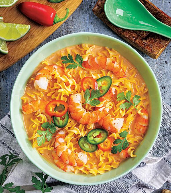 Thai Coconut-Shrimp Soup