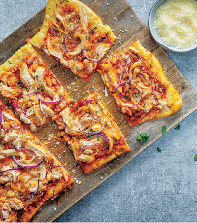 Tuscan Chicken Flatbread