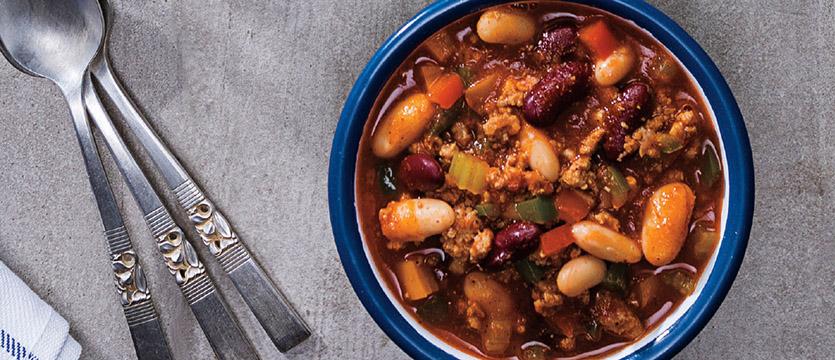 Hearty & Healthy Turkey Chili