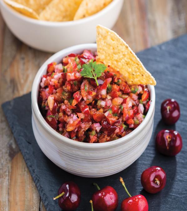Fresh Cherry Salsa